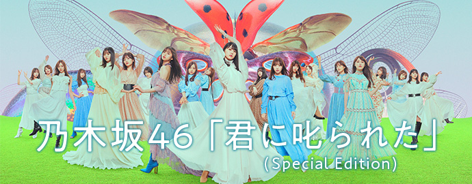 乃木坂46 - 君に叱られた (Special Edition)